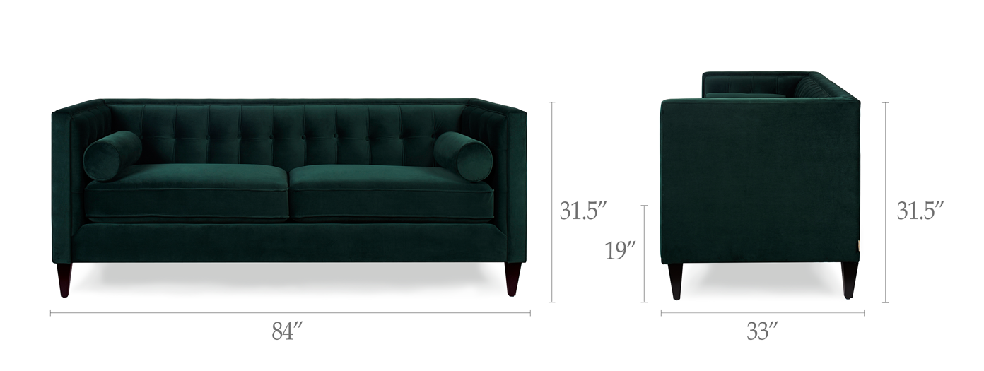 Jack Tuxedo Sofa