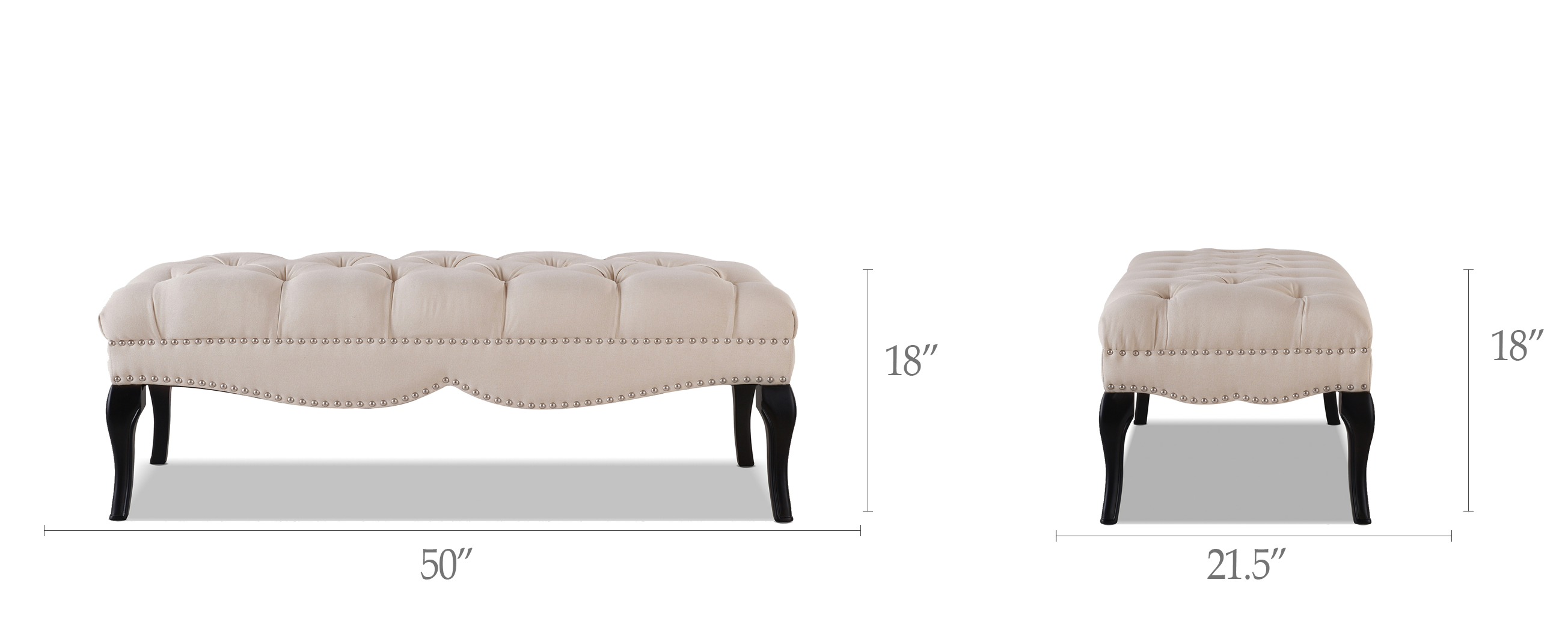 Camari Upholstered Bench