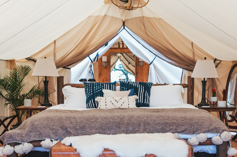 Top Glamping Locations In The U S  - Jennifer Taylor Home