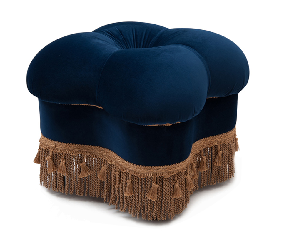 Ellen Ottoman, Navy Blue