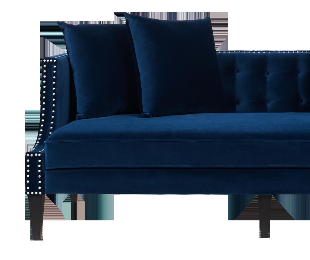 Caroline Recessed Tuxedo Sofa
