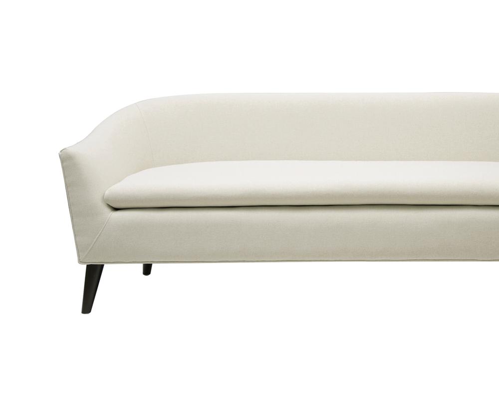 Lia Mid-Century Modern Sofa, Sky Neutral