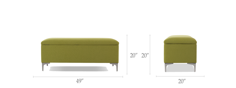 Serina Storage Bench