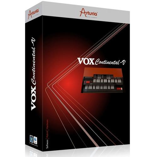 Arturia VOX Continental V2