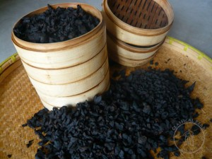 Processed Huangjing (traditional steaming method)