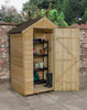 Overlap Pressure Treated 4x3 Apex Shed No Windows