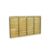 Traditional Lap Fence Panel 1.83m(W) x 0.9m(H) Pressure Treated (Natural)