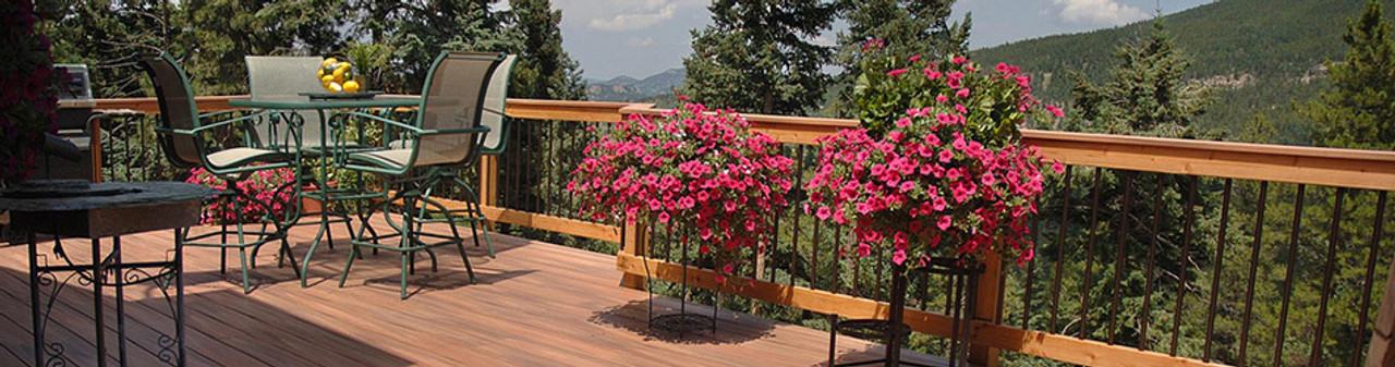 Decking Handrails