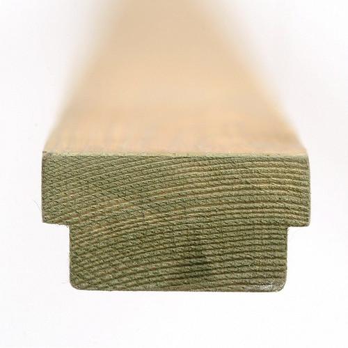 1.8m 'Q' Deck Handrail Infill 50x25mm
