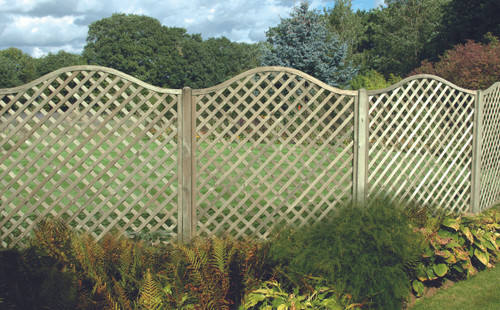 Omega Full Lattice Panel - 1.8m X 1.8m
