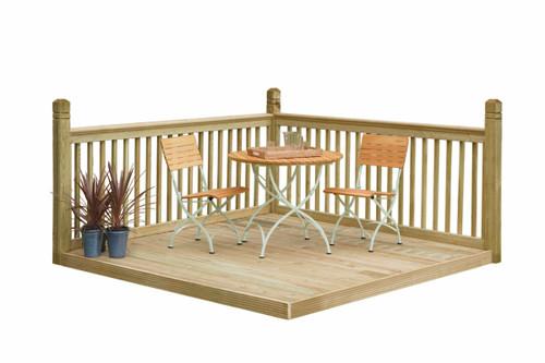 Patio Deck Kit 2.4 x 2.4m