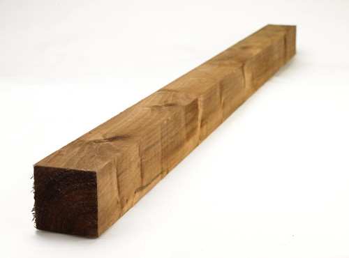 Timber Fence Post 2.4m(H) 75x75mm Pressure Treated (Brown)