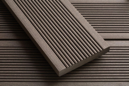 3.6m x 20mm x 138mm Smartboard Composite Decking - Chocolate Brown