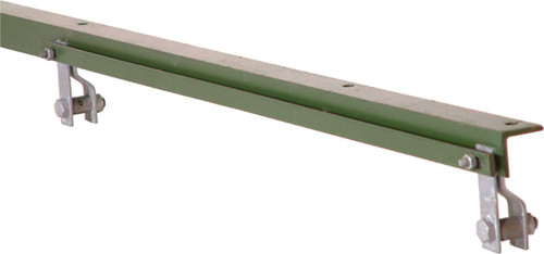 2.50m Green 50 X 50 X 6mm Angle Iron End For 1800mm Fence