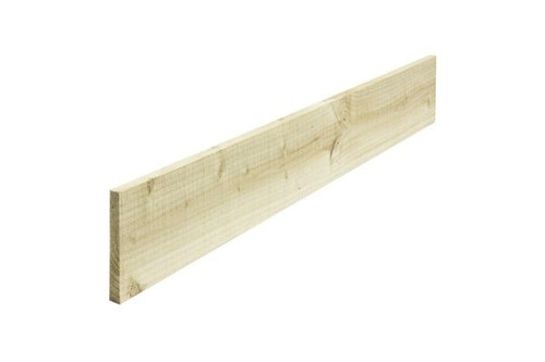 Timber Gravel Board 3.0m x 200mm x 22mm Pressure Treated (Natural)