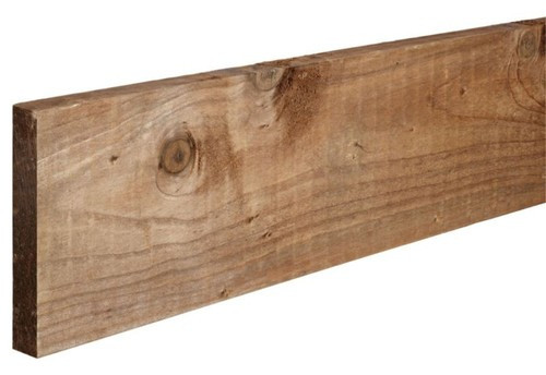 Timber Gravel Board 1.83m x 150mm x 22mm Pressure Treated Brown