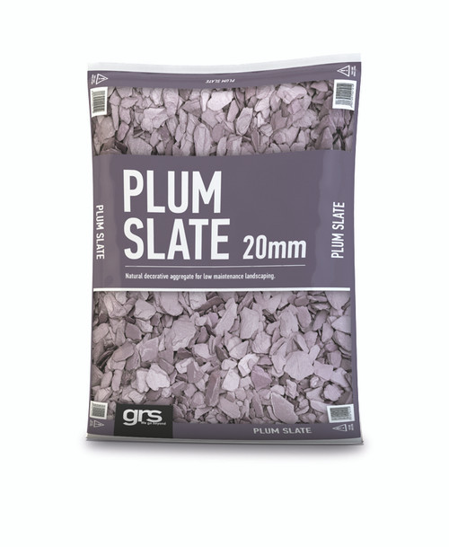 20mm Plum Slate (25KG Bag)