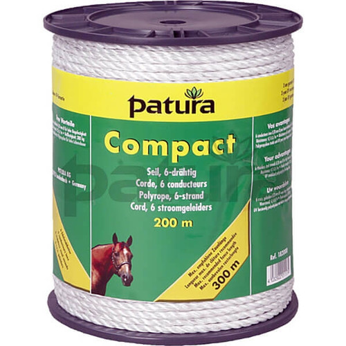 Patura White Compact Poly-rope (8 Strand)