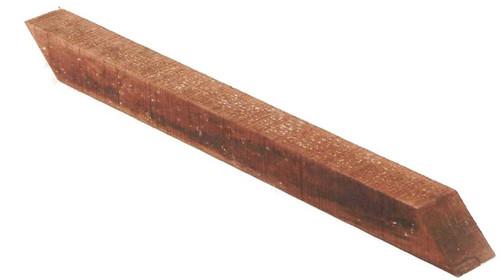 600mm Brown Centre Stump (50x50mm)