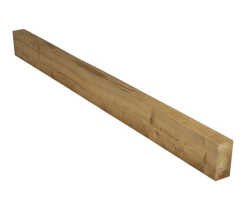 3m Fence Counter Rail 50 x 32 mm Pressure Treated (Brown)