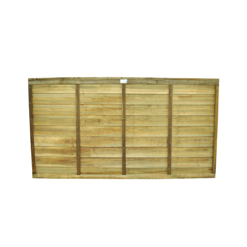 Traditional Lap Fence Panel 1.83m(W) x 0.9m(H) Pressure Treated