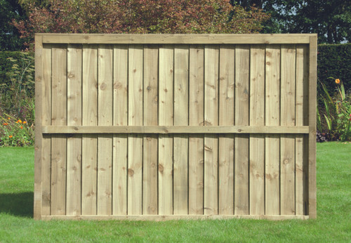 Feather Edge Fence Panel 1.83m(W) x 1.2m(H) Pressure Treated