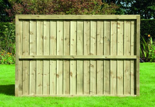 Feather Edge Fence Panel 1.83m(W) x 0.9m(H) Pressure Treated