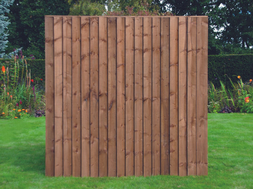 Feather Edge Fence Panel 1.83m(W) x 1.8m(H) Dip Treated