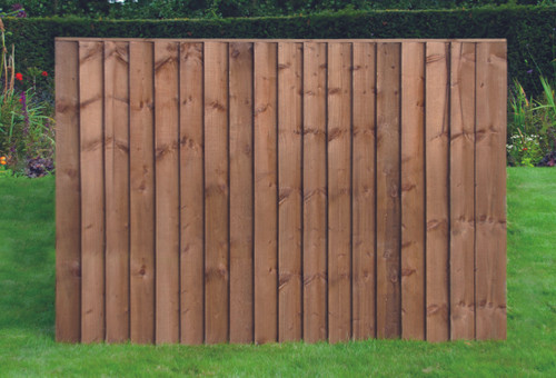 Feather Edge Fence Panel 1.83m(W) x 0.9m(H) Dip Treated