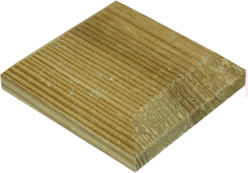 Fence Post Cap 125x125mm Pressure Treated (Natural)