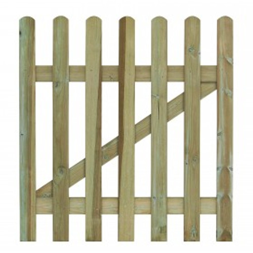 Picket Gate 900mm(W) x 900mm(H) Round Top