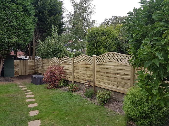 Garden Fencing for East Sussex & Kent Area