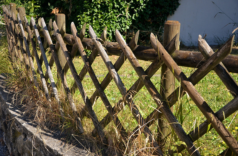 Rustic Fencing and the Appeal