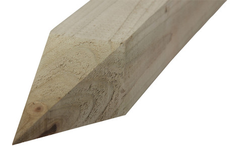 Timber Fence Post 1 8m 125x100mm Pointed End Pressure