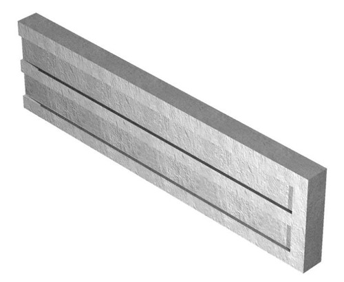 concrete gravel board recessed x 300x50mm avs. Black Bedroom Furniture Sets. Home Design Ideas