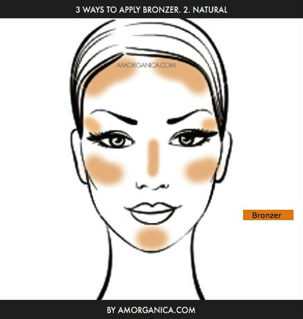 How to apply Bronzer 2