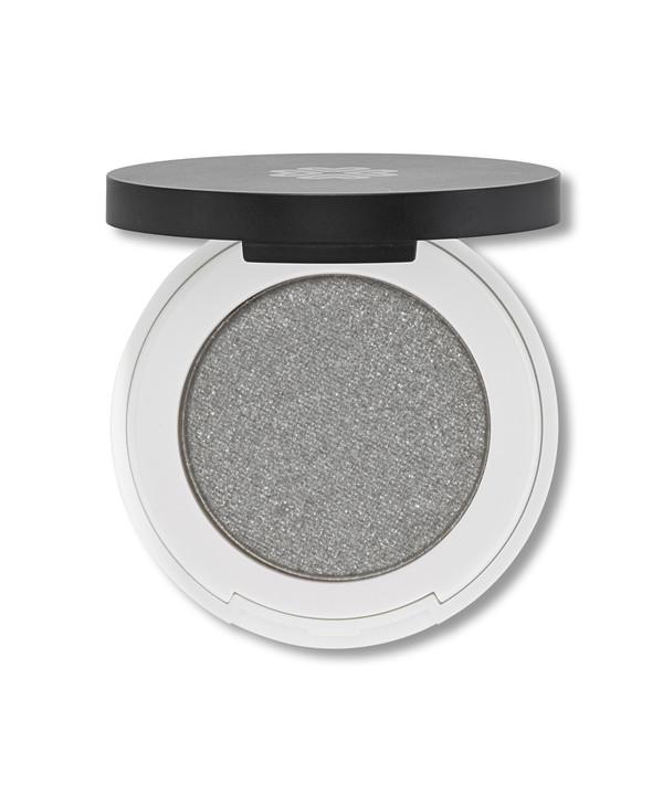 Lily Lolo Pressed Eyeshadow Silver Lining (silver shimmery Grey)