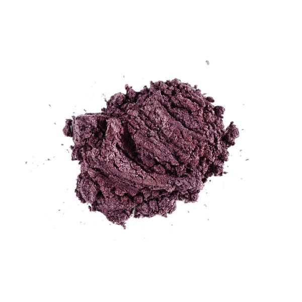 Lily Lolo Eyeshadow Choc Fudge Cake (Deep BROWN with purple sparkle)