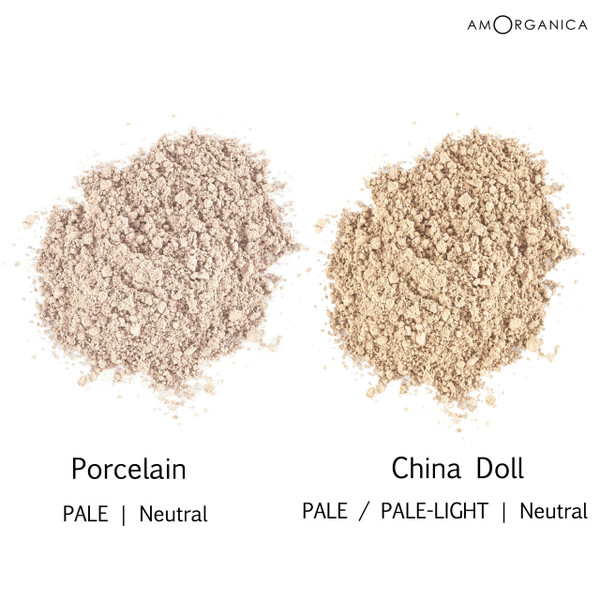 Lily Lolo Foundation PALE skin shades