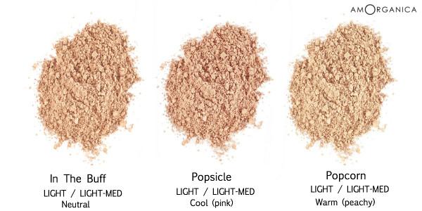 Lily Lolo Foundation LIGHT-MEDIUM skin shades