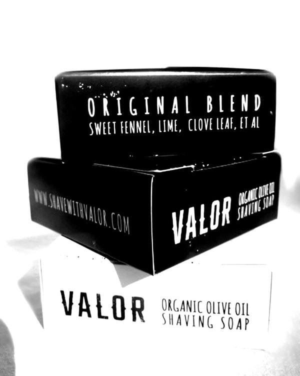 Valor Organic Shaving Soap   Artisan Made in Byron Bay