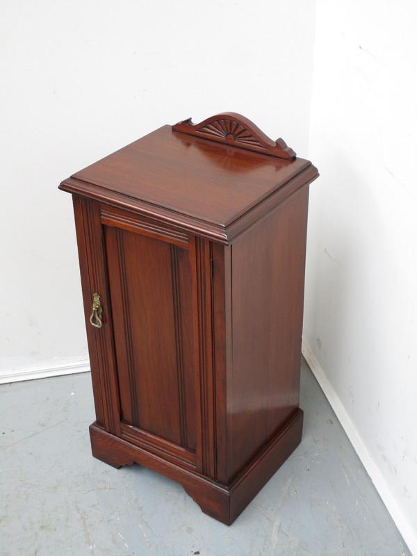 Australian red cedar antique bedside cupboard