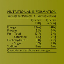 Life's Good Curry Pastes - Nutritional Information - Coriander & Almond Paste
