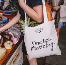 """One Less Plastic Bag"" Original Eumundi Markets Tote Bag"