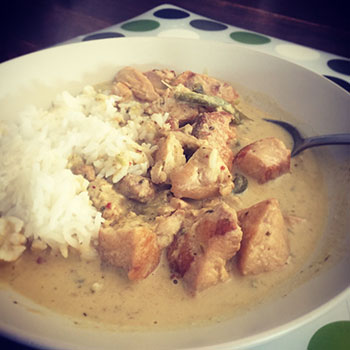 Life's Good Green Chicken Curry