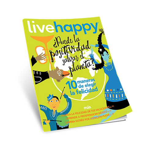 Live Happy Magazine - Spanish