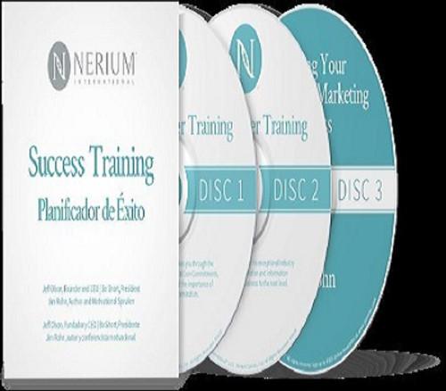 Success Training 3 CD Set with Jeff Olson,Jim Rohn and Bo Short