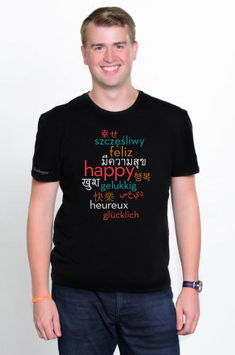 Mens International Happy Shirt