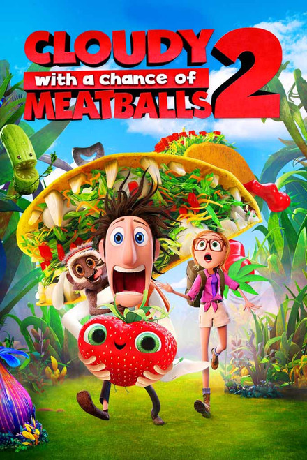 Cloudy With A Chance of Meatballs 2 [UltraViolet HD]