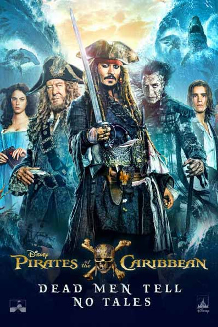 Pirates Of The Caribbean Dead Men Tell No Tales